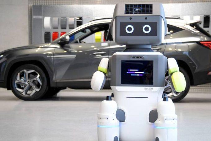 Hyundai lanza el DAL-e, un avanzado robot humanoide creado para potenciar la atención al cliente